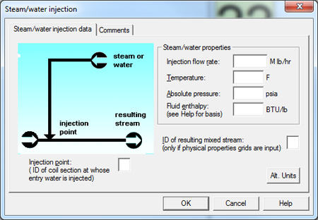 FRNC-Inputs Steam-Water-Injection